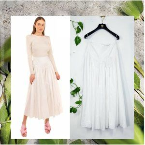 $1,569 NWT Stella McCartney Taffeta Silk Skirt XS